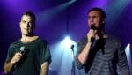 Robbie et Gary  au concert à Paris au Alhambra 10/10/2010 02bf0e101963794