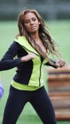 Melanie Brown - Skin Tight Spandex Making Work Out Vid 10/8/10