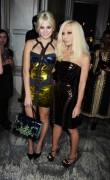 Pixie Lott-Donatella Versace Dinner Party November 11th 2010