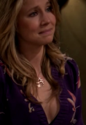 Sarah Chalke - ass and cleavage from HOW I MET YOUR MOTHER (2 caps)