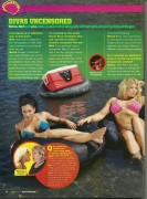 Melina,Beth Phoenix and Lena Yada-WWE Magazine January 2009