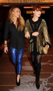 Blake Lively and Florence Welch @ Grand Opening Of Marquee Nightclub in Las Vegas 12/30/10