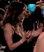 Rita Wilson's large milf *** & deep cleavage ... 11 non-HD caps from the last GOLDEN GLOBES ceremony