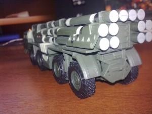 """Русские танки №29 - РСЗО """"Смерч"""""""