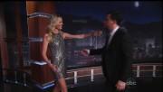 Rebecca Romijn - Legs! caps - Jimmy Kimmel 10-27-11