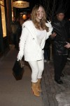 Мэрайя Кэри, фото 6092. Mariah Carey December, 31 2011 Out & about in Aspen, foto 6092