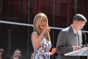 Дженнифер Анистон, фото 8649. Jennifer Aniston Inducted into the Hollywood Walk Of Fame - February 22, 2012, foto 8649