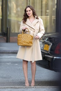 Лейгтон Мистер, фото 6868. Leighton Meester On the Set of 'Gossip Girl' in Manhattan - 05.03.2012, foto 6868