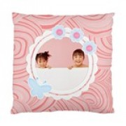 Retro Pastel Cushion Case - One Side