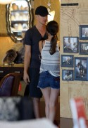 Rachel Bilson - in shorts shopping in Los Angeles 07/14/12