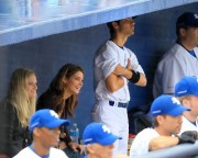 Ashley Greene-Out At A Baseball Game with Joe Jonas August 23rd 2010