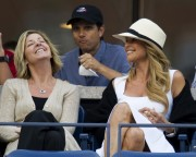 Christie Brinkley @ U.S. Open (2010-09-09)